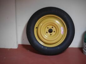 Temporary spare wheel 28 inches in diameter NEW