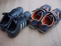 Adidas and Geox trainers EU35 UK2.5