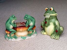 Frog collectables