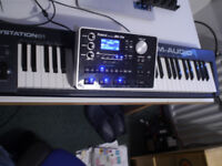 ROLAND BK7M and M AUDIO KEYSTATION 61 --COLLECTION ONLY