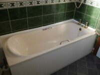 Bathroom Suite (Free to collect) Ideal Standard Bath, Basin, Toilet, Cistern, Taps etc