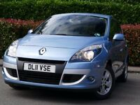 Renault Scenic 1.5 dCi 110 Dynamique TomTom 5d, Opal blue, 2011, 53,000 miles, exceptional car