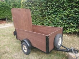 3' × 5' trailer in good condition
