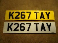 K267 TAY - Private Number Plate (Katy, Katay, Tay) FOR SALE