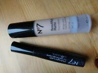 No 7 Beautifully matte foundation in warm ivory & midnight lash mascara(black)