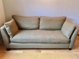 Quality 3 Seater Sofa for Sale: 100% Herringbone Wool Tweed