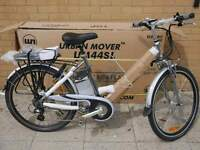Electric Bike Urban Mover UM44SL 36V 9AH AS NEW