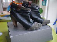 Terra Plana Shoes, style Lauren, Black, Size 41