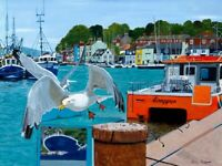 Seagulls at Weymouth A3 Giclee limited edition prints