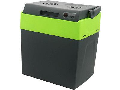 33L Kühlbox 12V 230V Warmhaltebox Mini-Kühlschrank mit Rollen, Thermoelektrische