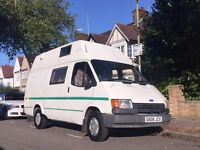 Reluctant sale - Ford Transit, LWB, Hi-top, Factory fit, low mileage Campervan, MOT Aug 2017
