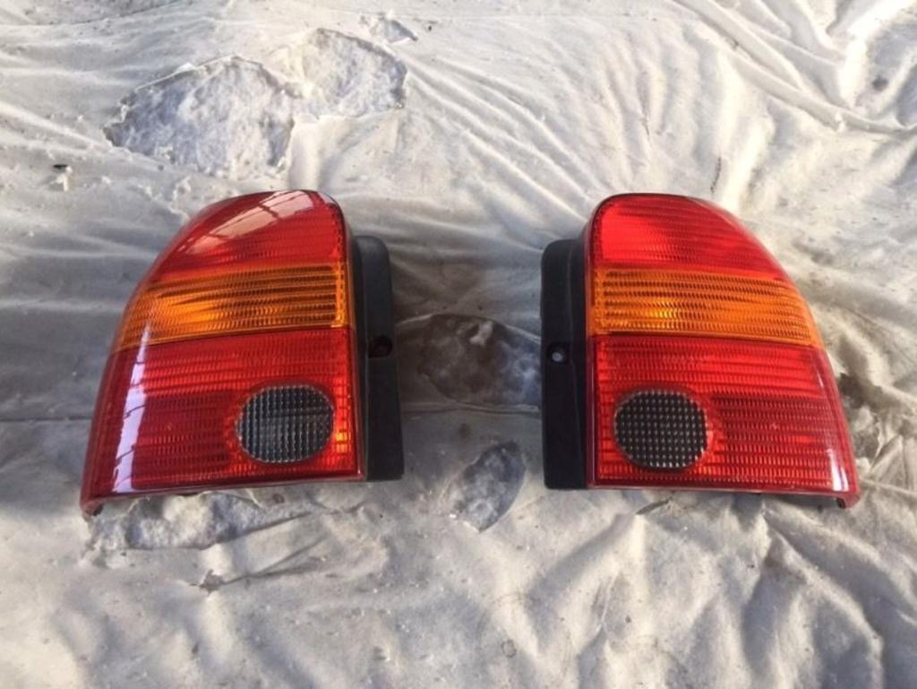 Seat Arosa rear lights