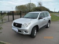 TOYOTA LANDCRUISER,3.0 D4D,2010 NEW SHAPE,LC3,AUTOMATIC,59k MILES,AS NEW