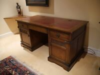 Exceptional Old Charm Partner Desk (Delivery Available)