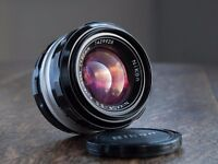 Nikon 50mm f1.4 pre AI lens, optically perfect