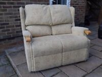 Two-seater sofa.