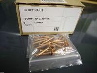 COPPER CLOUT NAILS OVER 20KG