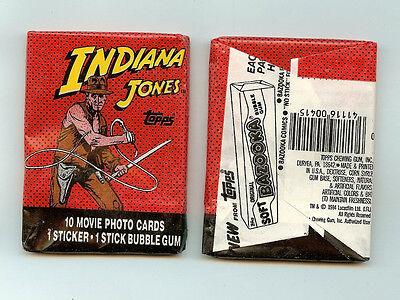 1984 Topps Indiana Jones single Wax Pack