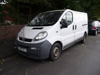 Vauxhall Vivaro Van for repair/ spares, but with 7 month old reconditioned gear box