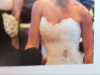 WEDDING DRESS OPEN TO OFFERS