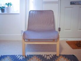 IKEA NOLMYRA Chair - birch veneer/gray