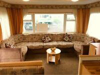 Spacious Family Static Caravan For Sale On Sandylands Now Open 12 Months