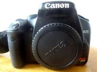Canon Rebel XSI 12.2 MP 450d Body only plus extras, this was my first DSLR and is a great camera.