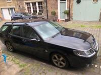 Saab 95 2006 estate Black (Auto)