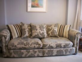 SOFA LARGE 4 SEATER VERY COMFORTABLE