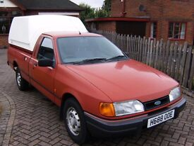 CLASSIC FORD P100 TRUCK, GENUINE 49,908 MILES FROM NEW, I HAVE OWNED FOR LAST 14 YEARS