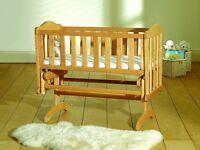 Saplings Glider Baby Crib Rocking / Swinging / Gliding Wooden Crib