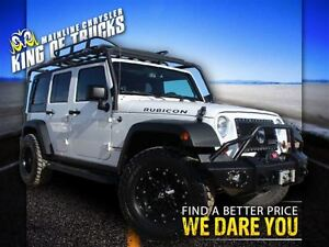2013 Jeep WRANGLER UNLIMITED Rubicon | Tons Of Adds | Roof Rack,