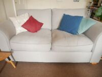 DFS two seater sofa - light grey