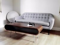 Made. com Ritchie 3 Seater Sofa, Pearl Grey - Fantastic condition