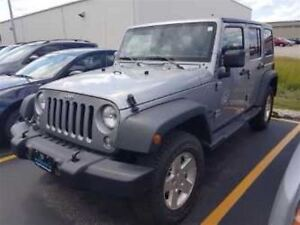 2014 Jeep Wrangler SPORT 4WD! $109/WK, 4.74% ZERO DOWN! POWER PA