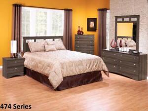 Brand New!! Gray Finish, Canadian Made 5 Drawer Bedroom Chest on Clearance
