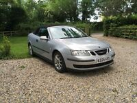 Saab 9-3 Convertible Auto. 2006. 12 months mot. Just serviced.