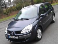 REDUCED 7 Seat 2007 Renault Grand Scenic 1.6 Privilege, New MOT ( No Advisories) Lovely Inside & Out