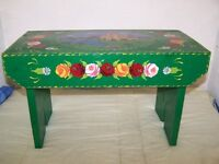 ROSE AND CASTLE COFFEE TABLE