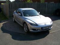 Mazda RX8 2006 Plate with ONE FORMER KEEPER,, 45516 Low miles, Long MOT