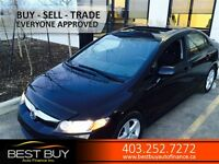 2010 Honda Civic Sport / POWER SUN ROOF / SEDAN