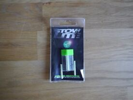 Korda Stow isotopes x3...green...new...carp fishing tackle
