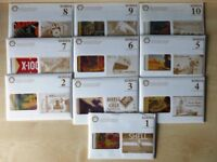 Postcards, Shell oil & petrol, 10 sets of 10 of the best shell poster art 1920's to the 1950's