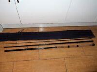 daiwa , matchman mark 2 fishing rod 3175-12 (12' ) In Good condition