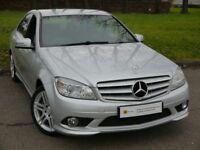 £0 DEPOSIT FINANCE** Mercedes-Benz C Class 2.1 C200 CDI Sport 4dr **STUNNING**AMG WHEELS**PX WEL