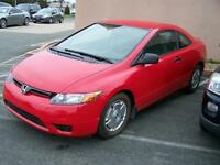 2007 Honda Civic Coupe, $ 6,900.00 Call Only Please 727-5344