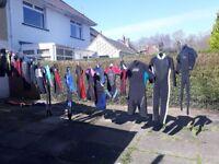 job lot of wetsuits
