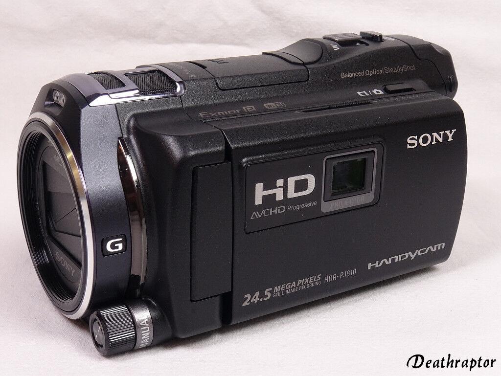 Sony HDR-PJ810E Camcorder Full HD Handycam PJ810 E schwarz - TOP Zustand
