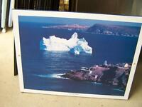 Pictures Narrows Iceberg, Newfoundland, Surfing 727-5344