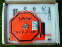 Excalibur Caravan Wheel Lock from fullStop Security